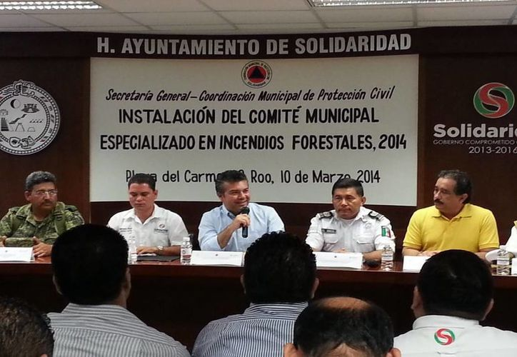 Trabajarán en esquemas de prevención, detección y combate de incendios forestales. (Redacción/SIPSE)