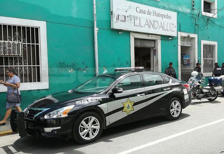 El crimen se cometió en un hotel del Centro de Mérida, entre la noche del sábado y la mañana del domingo pasado. (SIPSE)