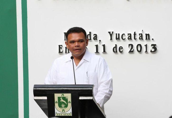 Zapata Bello indicó que la prioridad del INDERM es fincar estrategias de maximización de recursos municipales y regionalizar los servicios de las dependencias. (Cortesía)