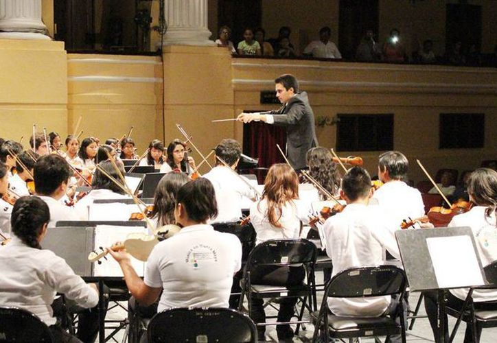 La Orquesta Sinfónica Infantil sigue creciendo desde su debut en 2011. (Milenio Novedades)