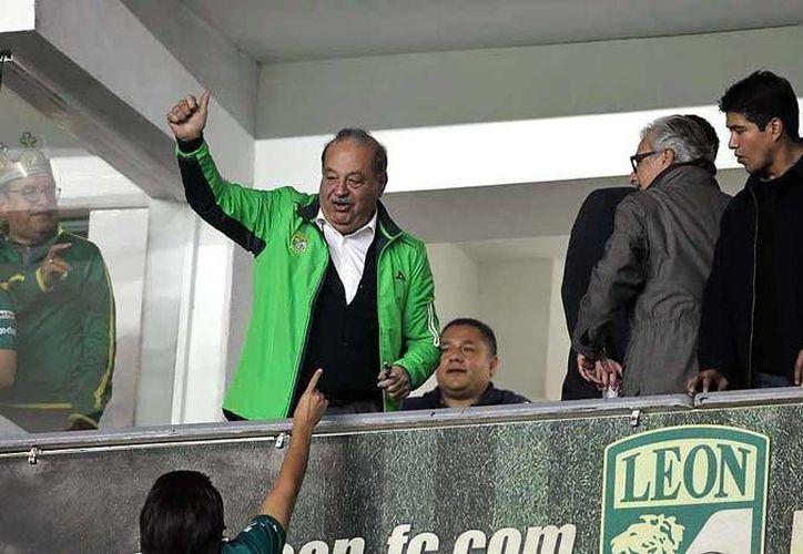 Slim festejó la temporada pasada su primer campeonato en el futbol mexicano. (Foto: El Mañana)