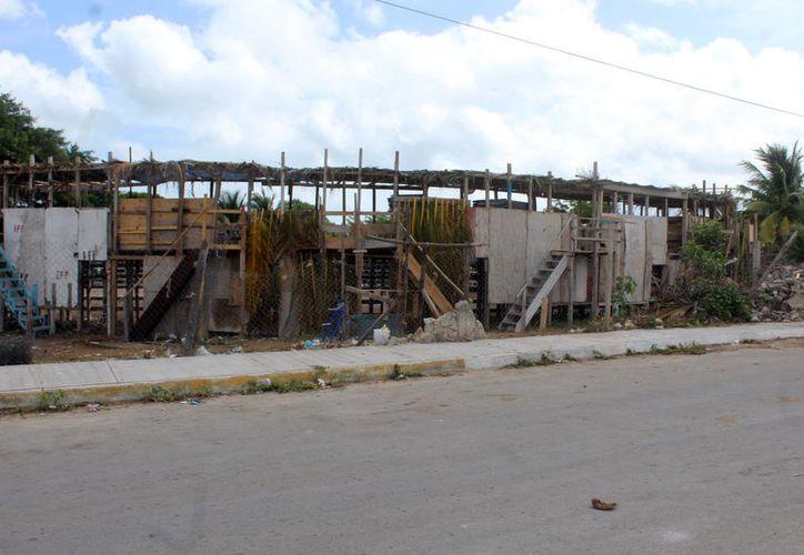 Autoridades de Progreso afirman que los tablados son seguros para los espectadores.  (Foto: Gerardo Keb/ Milenio novedades)
