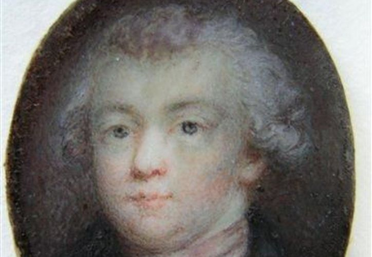 El retrato muestra al genio sin su característica peluca blanca. (Agencias)