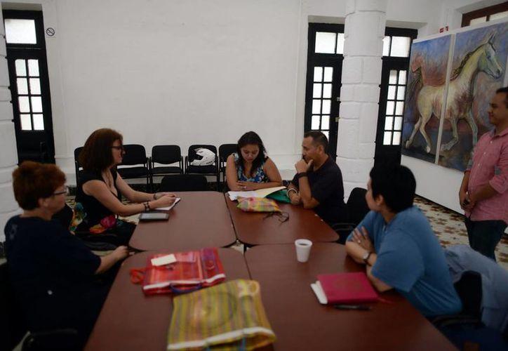 Artistas de Argentina, Uruguay, Venezuela y México se reúnen en Mérida. (Luis Pérez/SIPSE)