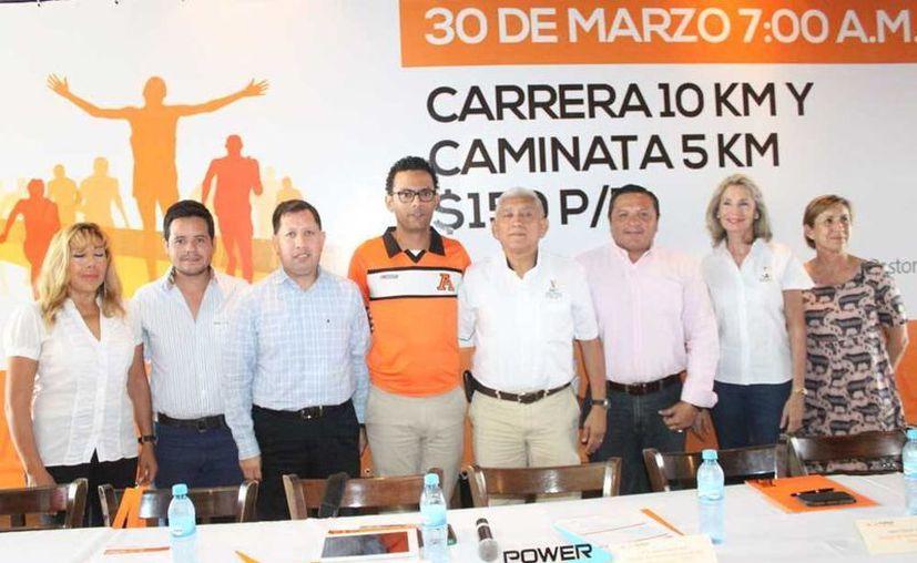 Los detalles de la competencia fueron presentados por Rodrigo Franco Cavillo, director de deportes de la Universidad Anáhuac. (Milenio Novedades)