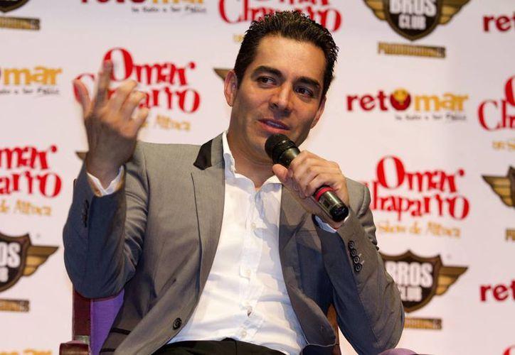 Omar Chaparro prepara trabajos en cine, televisión y un disco de música. (Notimex/Foto de archivo)