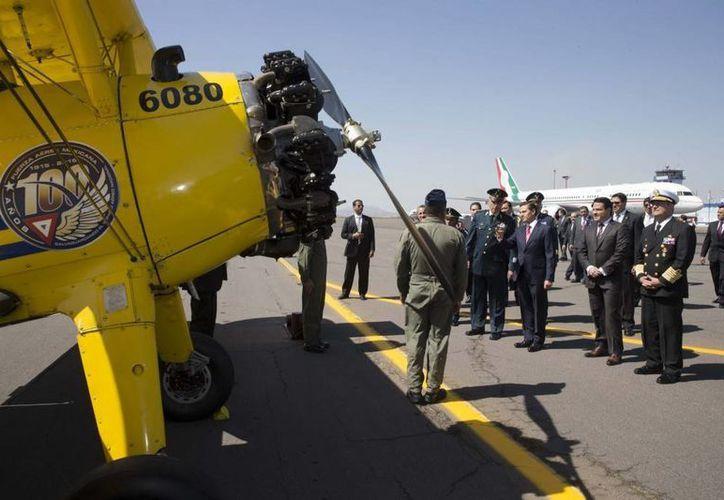 Peña Nieto pidió a los mexicanos ver a su país como 'una patria grande'. (Presidencia)