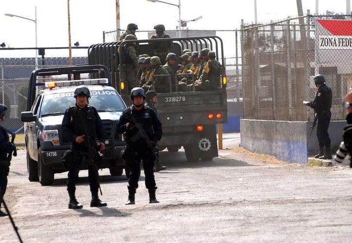 Jesús Reyna, exscretario y exgobernador interino de Michoacán está preso en Almoloya (foto); hoy lo vincularon a proceso por delincuencia organizada. (Archivo/NTX)