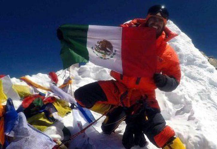Daniel Araiza Chávez había iniciado su carrera en el alpinismo desde los 10 años. (The HuffingtonPost)