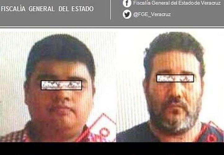 """de Ángel de Jesús """"N"""" y Eric Noé """"N"""", sentenciados por el delito de secuestro. (Internet)"""