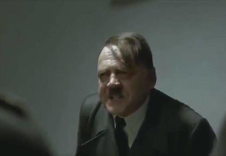 En una parodia, Hitler ya está hablando de la huelga en la Uady. (SIPSE)