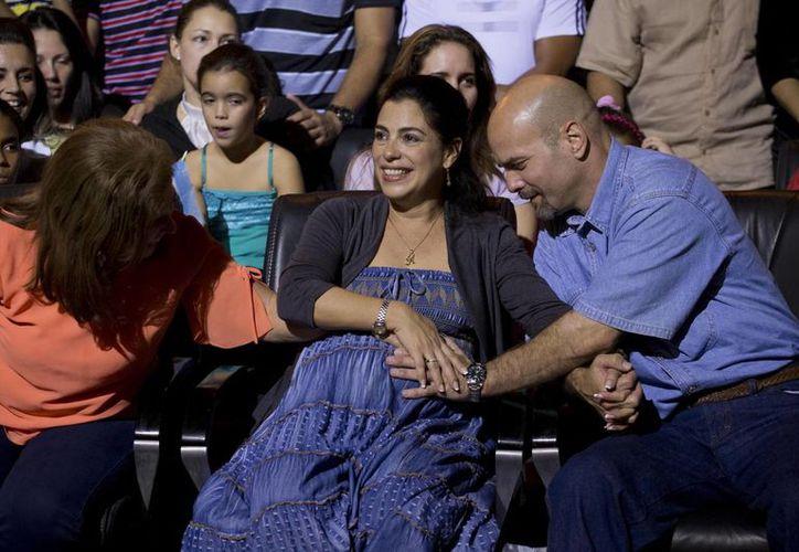 El nacimiento de la hija de Gerardo Hernández está previsto para dentro de 15 días. (AP)