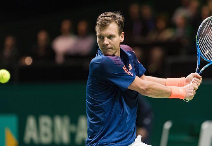Berdych, ex número 4 mundial, disputó esta temporada una única final, que perdió en mayo ante el francés Jo-Wilfried Tsonga. (ATP)