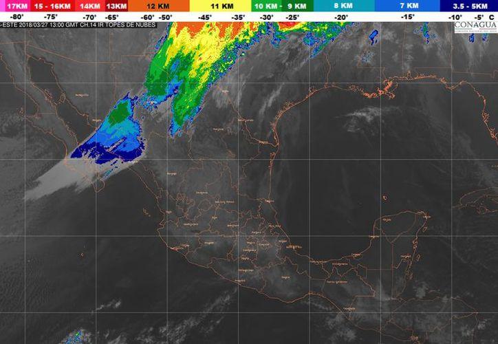 Se espera un ambiente caluroso y viento del este y sureste de 20 a 30 kilómetros por hora. (Conagua)