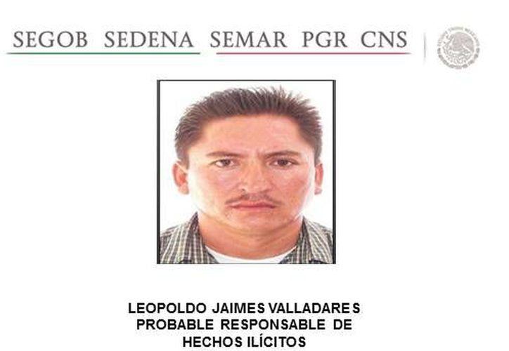 La fecha de captura de Valladares no fue especificada. (Segob)