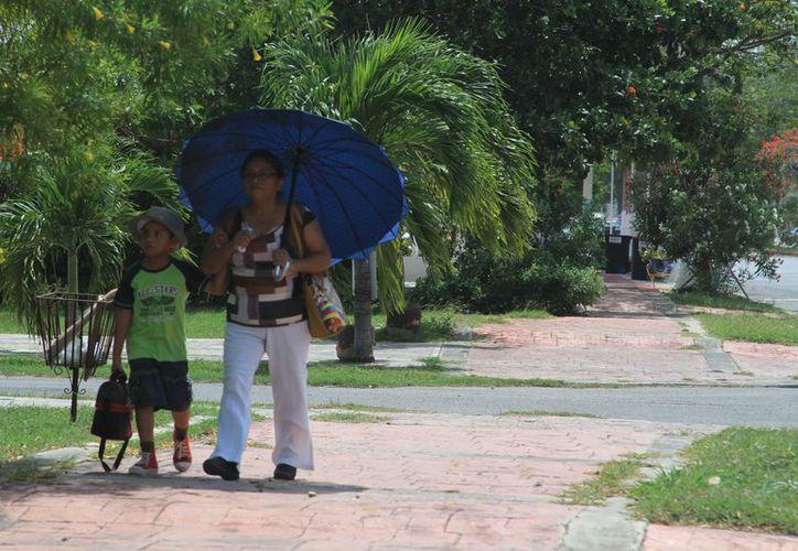Durante este verano se espera que la temperatura supere los 40 grados centígrados a la sombra en Q. Roo. (Ángel Castilla/SIPSE)