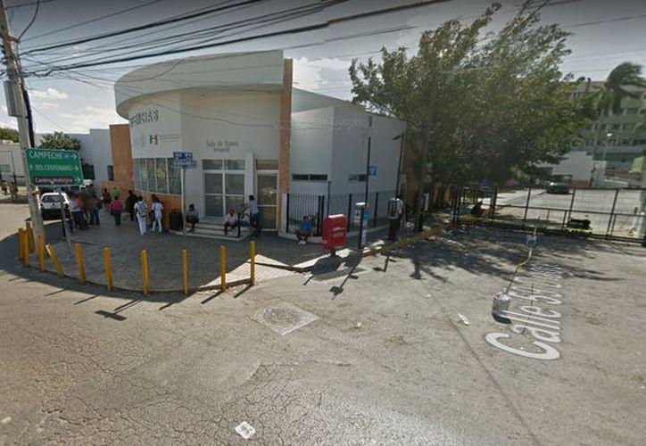 El incidente se dio a las puertas del Hospital O'Horán sobre la Jacinto Canek. (Google Maps)