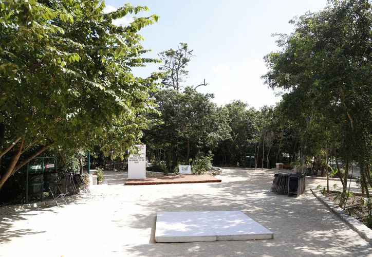 En la actualidad el Ombligo Verde abre de lunes a viernes de 8:30 a 15:30 horas. (Israel Leal/SIPSE)