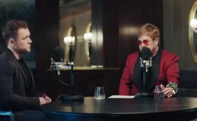 Elton John ha vendido más de 300 millones de discos en el mundo (Foto: Captura de pantalla Instagram: eltonjohn/ preview Rocketman)