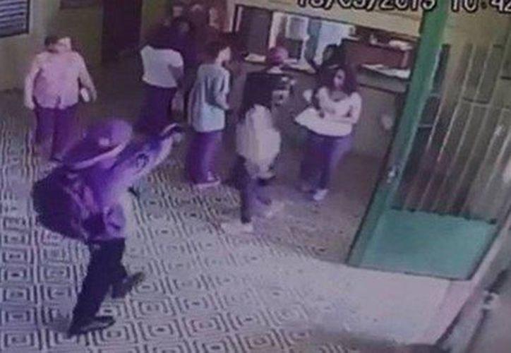 Revelan video de ataque en escuela de Brasil (Foto: Twitter)