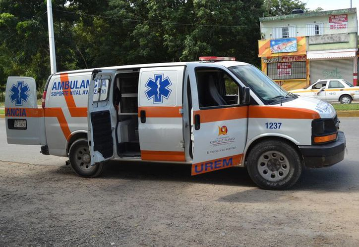 La madre acompañó a su pequeño hijo hasta el hospital. (Redacción/SIPSE)