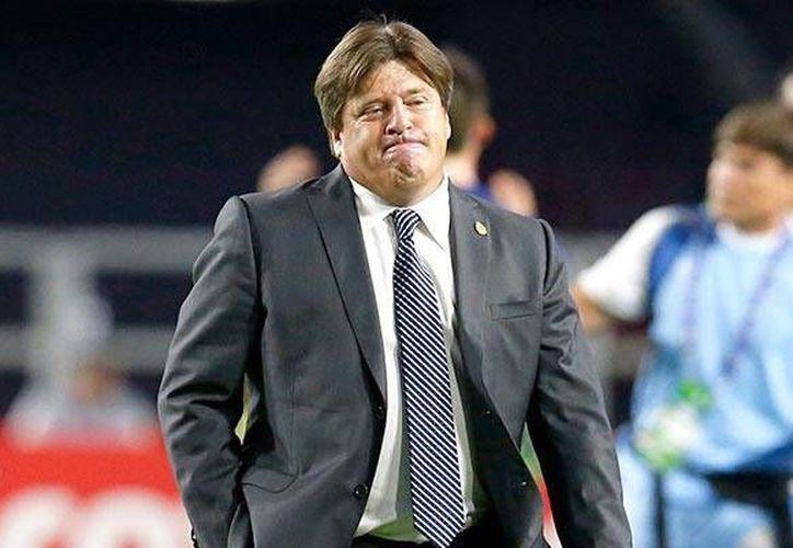 Miguel Herrera actualmente se encuentra disputando la Liga MX al mando de Xolos de Tijuana. (AP)