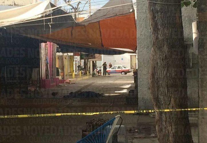 Dos personas resultaron lesionadas y una perdió la vida. (Teresa Pérez/ SIPSE)
