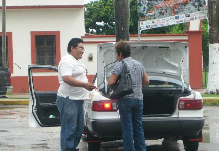 La tarifa establece el cobro de 16 pesos en el primer cuadro de la ciudad. (Javier Ortiz/SIPSE)