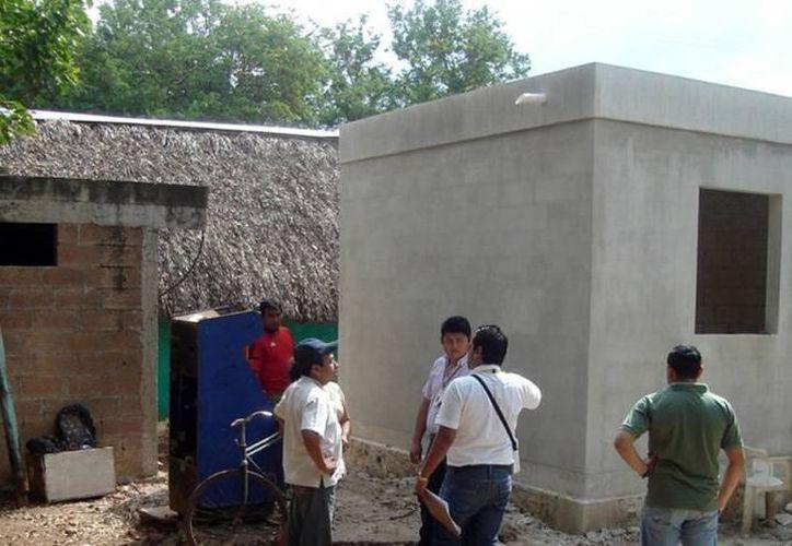 Los cuartos son parte de las acciones de vivienda que se construirán en Yucatán. (Imagen ilustrativa/Milenio Novedades)
