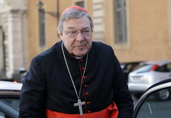 El cardenal George Pell, actual arzobispo de Sydney, será el nuevo Prefecto del ministerio de Economía del Vaticano. (Agencias)