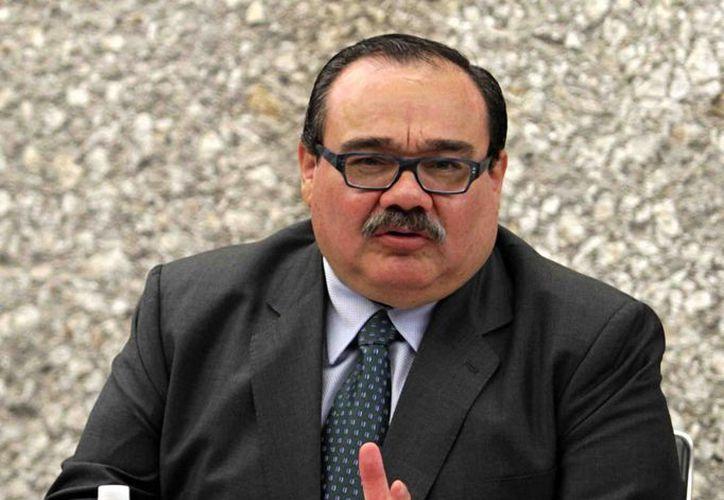El titular de la Sedatu, Jorge Carlos Ramírez Marín, expuso que las metas en el sector serán mayores  en el 2015 en el sector vivienda. (Notimex)