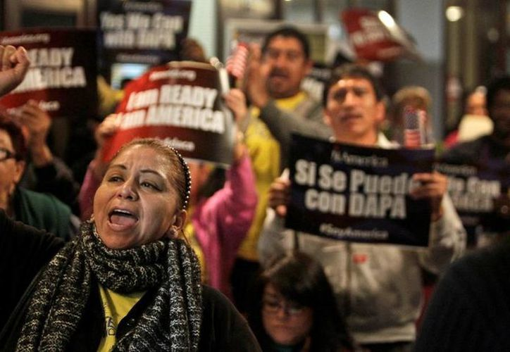 Los republicanos aseguran que los planes migratorios de Obama son una 'amnistía', de ahí que estén en contra de las medidas. (AP)