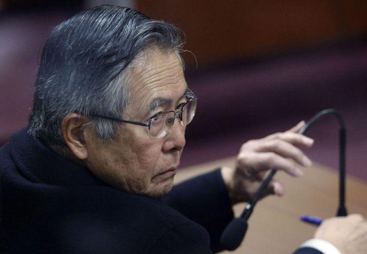 Fujimori fue condenado a 25 años de prisión por el asesinato de 25 personas cometido por el grupo paramilitar Colina. (Archivo/Reuters)