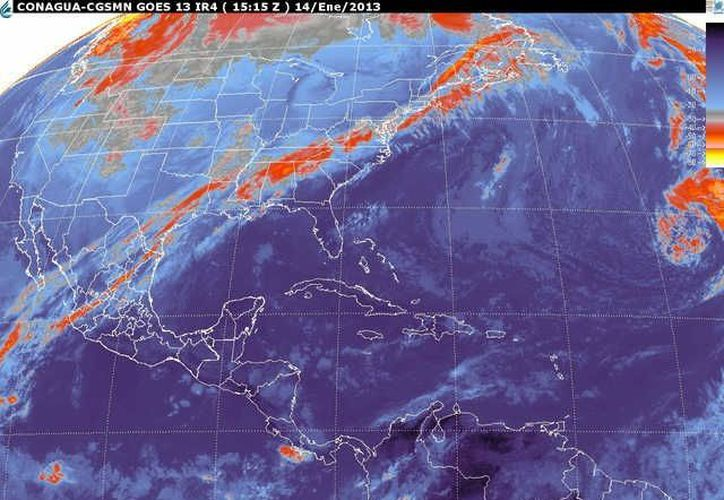 Soplarán vientos del este y sureste de 30 a 50 km/h. (smn.cna.gob.mx)