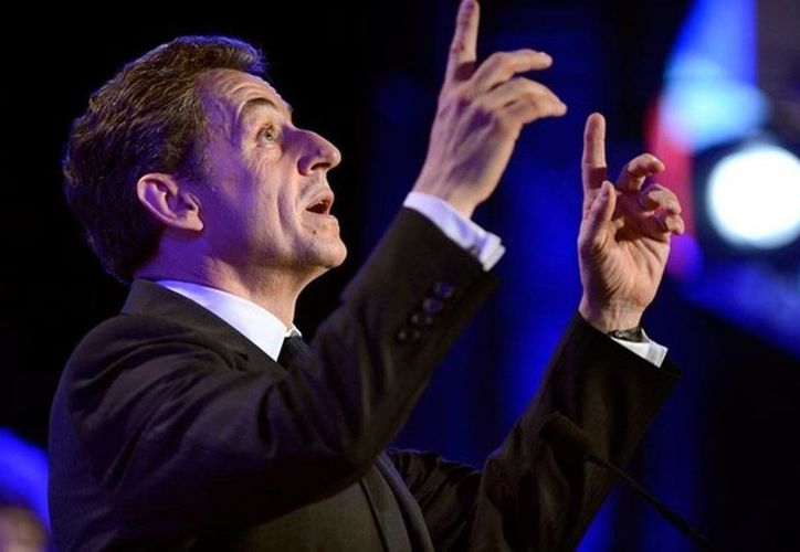 El expresidente de Francia, Nicolas Sarkozy (foto), detenido hoy por cargos de corrupción, 'ruega' por que su interrogatorio sea 'corto': dura por lo menos 24 horas. (Imagen de archivo/SIPSE.com)