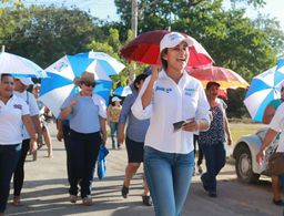Terminamos campaña con la mismas ganas que el principio, de trabajar por los ciudadanos: Claudette González