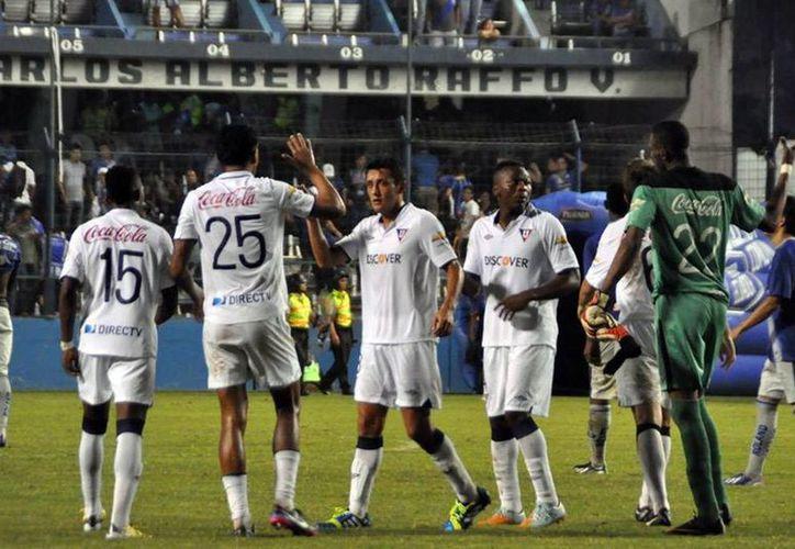 El club Liga de Quito publicó en sus redes sociales su participación en la huelga. (Facebook)