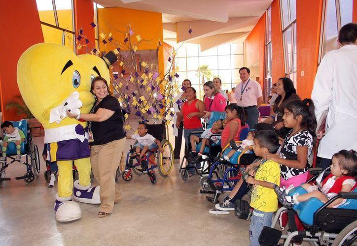 La rehabilitación otorgada por el CRIT-Yucatán abarca los aspectos físicos, psicológicos, sociales y espirituales. (Theani Ruz/SIPSE)