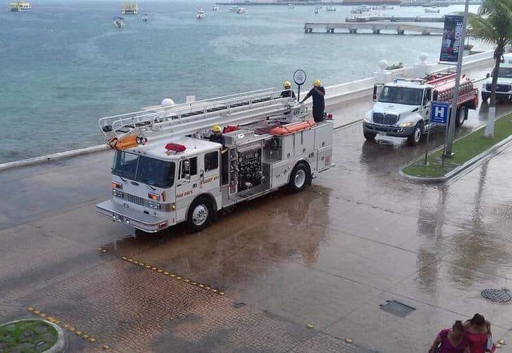 Rescatistas atendieron el reporte alrededor de las 7:45 horas de ayer. (Redacción/SIPSE)