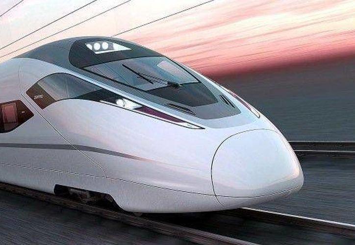 Hace unos días la SCT había anunciado que la empresa China Railway fue la ganadora de la licitación para la construcción del tren México-Querétaro. (twitter.com/SCT_mx)