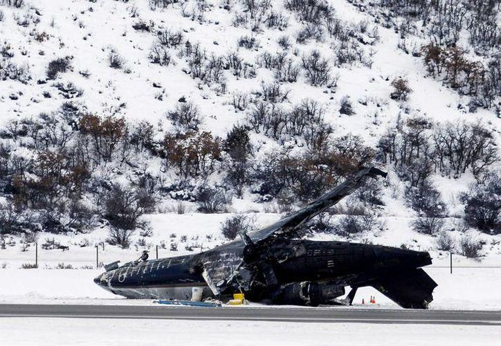 Miguel Henríquez se encontraba en estado crítico y Moisés Carranza en estado grave en el hospital St. Mary en Grand Junction, tras el avionazo que cobró una vida en Colorado. (Agencias)