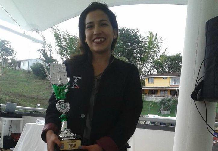 La ajedrecista Liliana Fuentes terminó invicta el Panamericano Sub-20. (SIPSE)