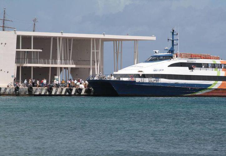 El nuevo costo se aplicará en todos horarios de los Barcos México. (Gustavo Villegas/SIPSE)