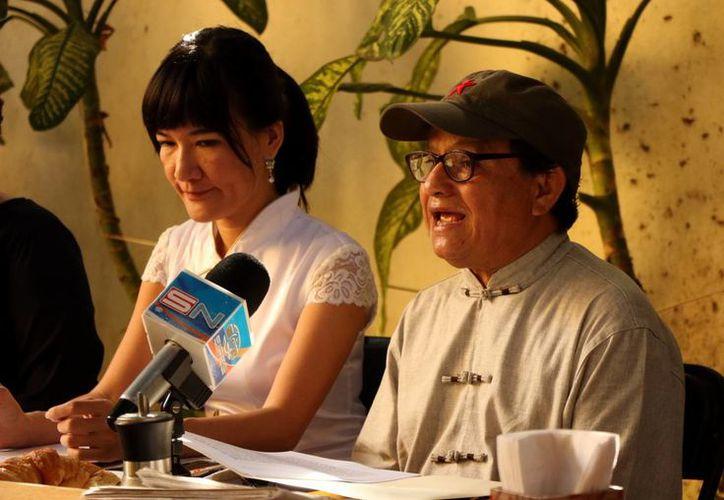 José Luis Pinto anunció que el 14 de diciembre, en la ciudad de Guangzhou, tendrá la apertura de su gira artística en tierras asiáticas. (Milenio Novedades)