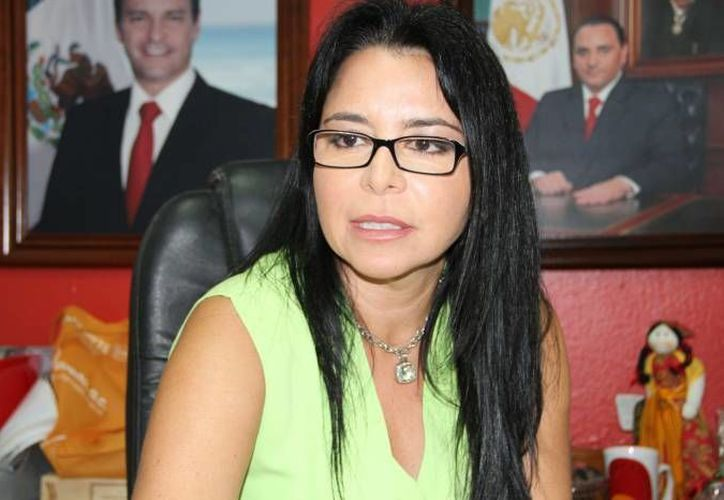 Lydia Portilla Mánica, directora de Relaciones Públicas del Ayuntamiento de Benito Juárez. (Archivo/SIPSE)