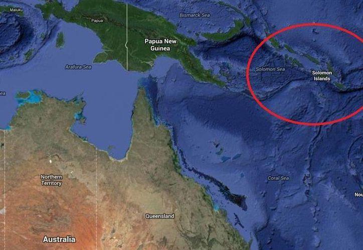 El terremoto se registró al sureste de Honiara, capital de Islas Salomón. (Google Maps)
