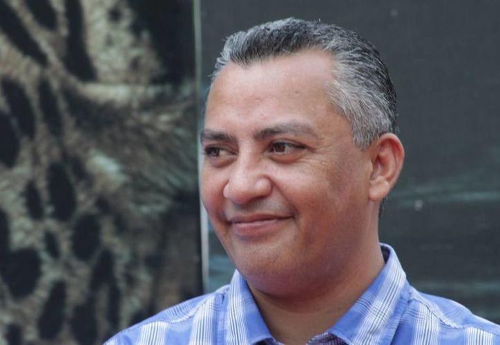 """""""El alcalde vive inmerso en una burbuja"""", asegura Juan Carlos Pallares Bueno. (Enrique Mena/SIPSE)"""