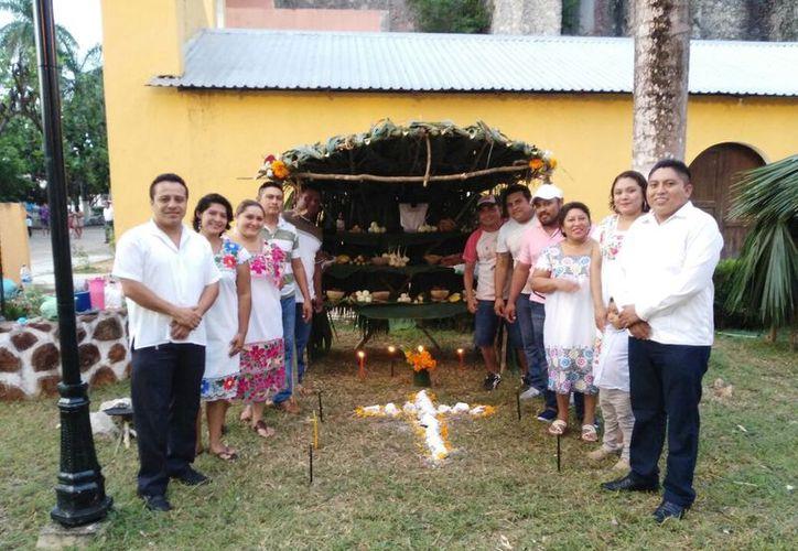 La actividad se realizó con el objetivo de conservar las tradiciones de la región y que se conozcan las diferencias de cada cultura. (Jesús Caamal/SIPSE)