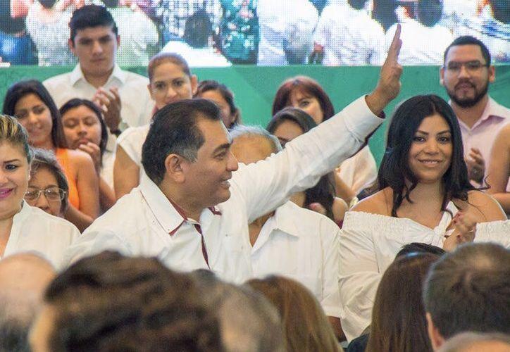 Víctor Caballero Durán señaló que fortalecerá la seguridad en la ciudad. (Milenio Novedades)