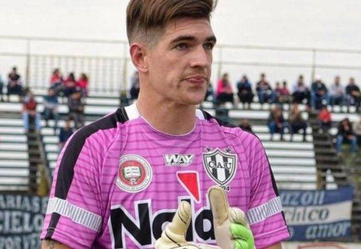 Facundo Espíndola fue portero en las categorías inferiores de River Plate y  en Almagro. (Milenio)